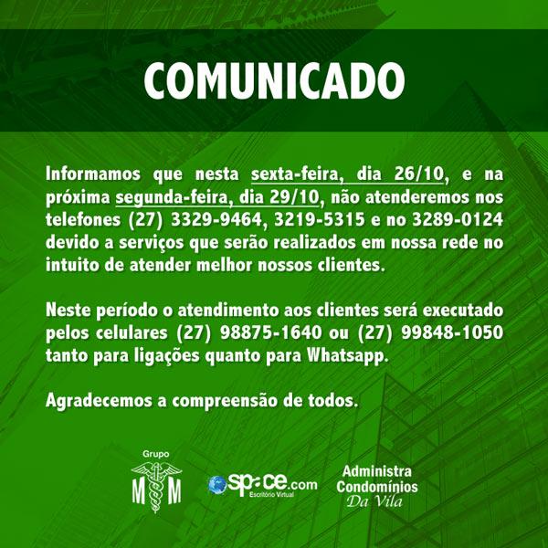 Comunicado Telefonia 2018